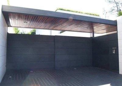 Puertas de garaje metalicas.
