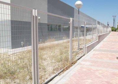 Cerramientos metalicos de comunidades.